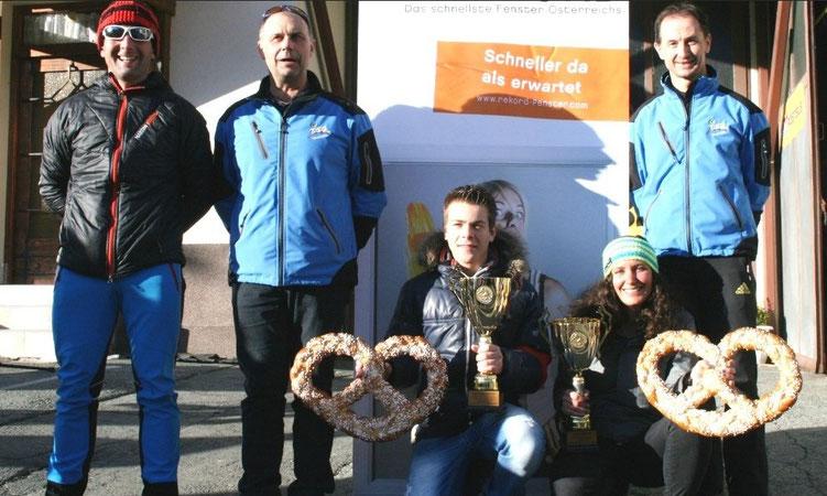 Vereinsmeister SchiAlpin 2015, Magdalena Ortner und Markus Strieder