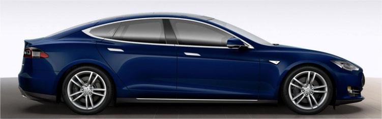 Tesla modèle S 85D