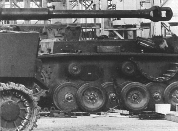 Le châssis du VK 30.01 (H) restera à l'abandon dans l'usine d'Henschel jusqu'à la fin de la guerre