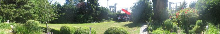 Unser Vereinshausgarten im Frühjahr 2011