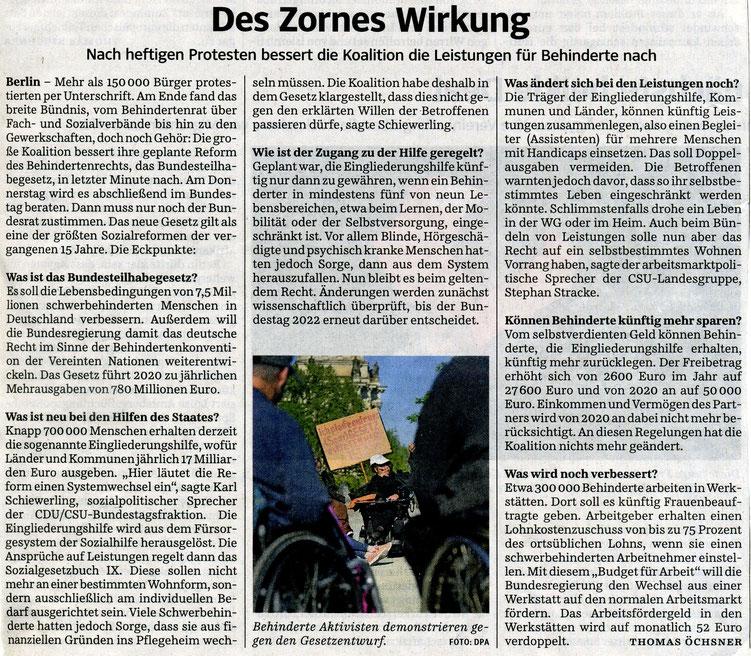Quelle: Süddeutsche Zeitung 30.11.2016