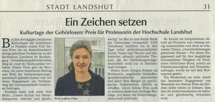 Quelle: Landshuter Zeitung 07.06.2018