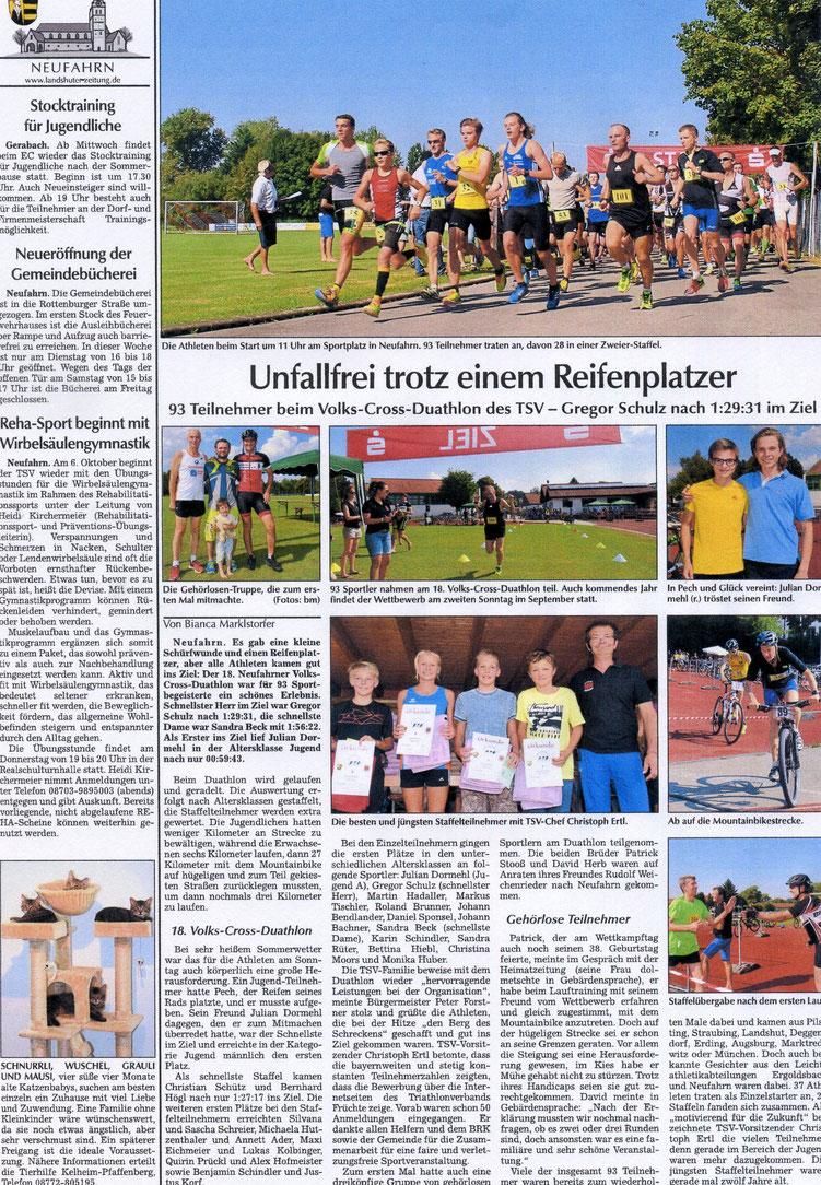 Quelle: Landshuter Zeitung 13.09.2016
