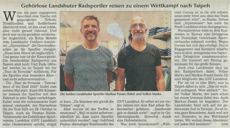 Quelle: Landshuter Zeitung 13.07.2020
