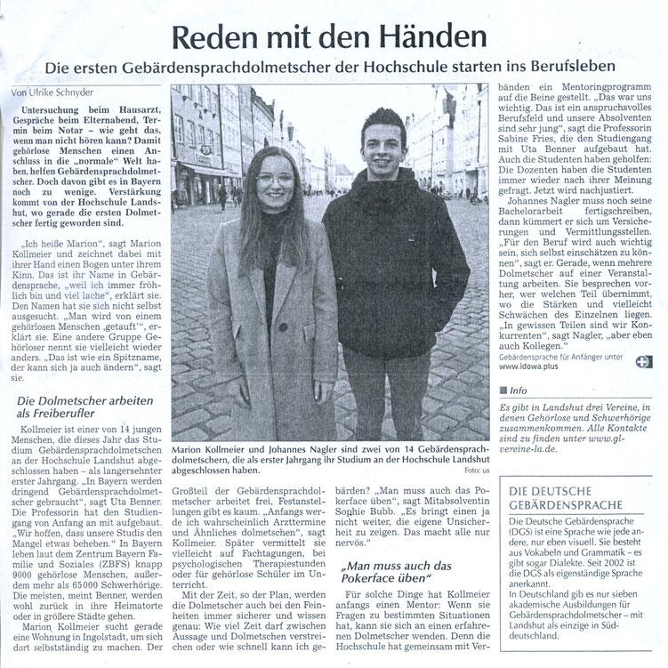 Quelle: Landshuter Zeitung 05.03.2019