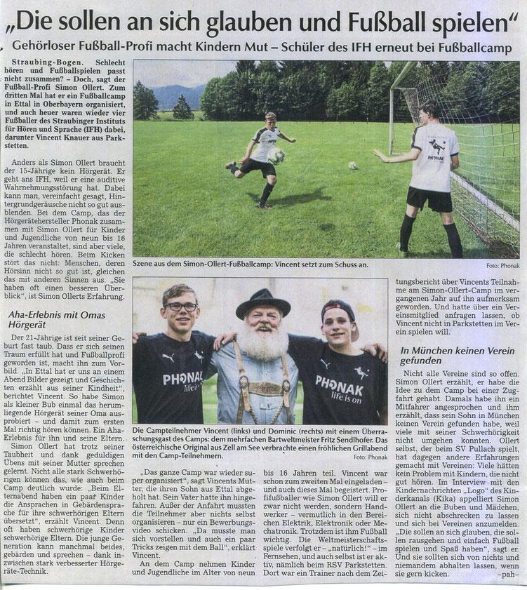Straubinger Tagblatt 19.06.2018