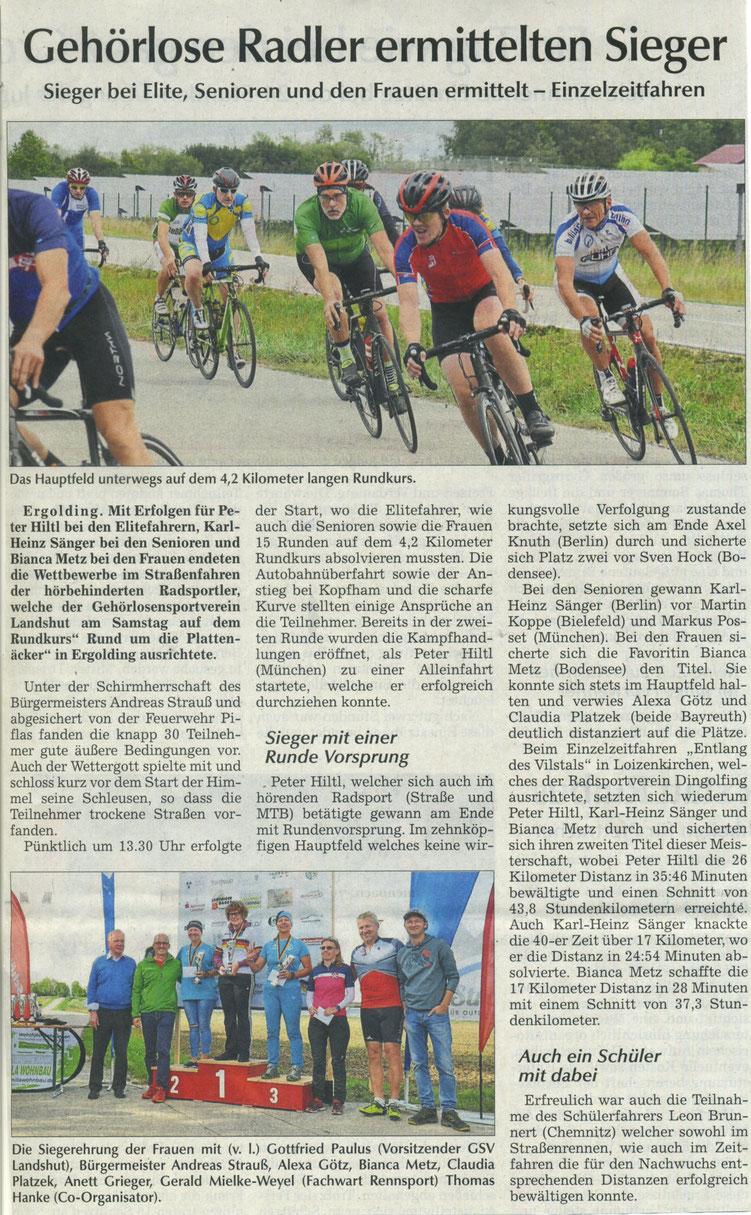 Quelle: Landshuter Zeitung 10.09.2019
