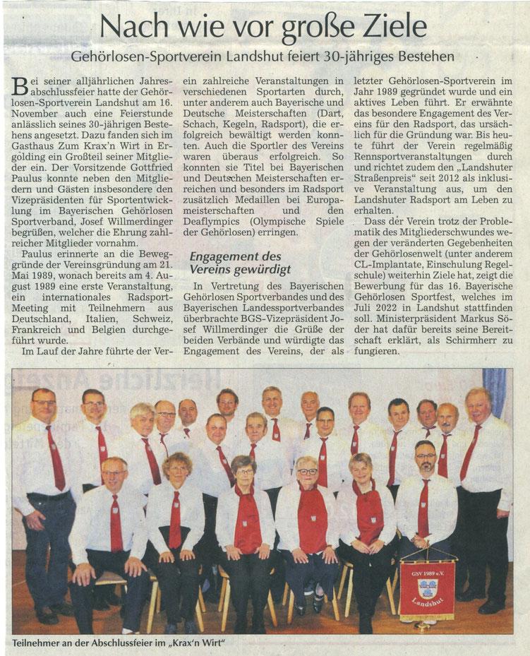 Quelle: Landshuter Zeitung 21.11.2019