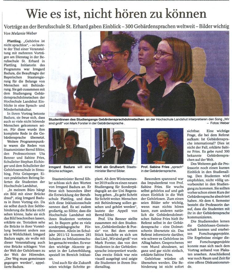 Quelle: Deggendorfer Zeitung 26.04.2018
