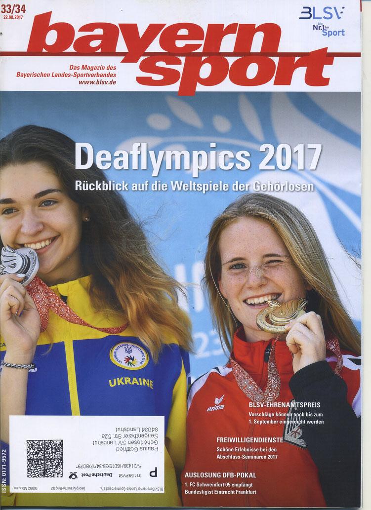 Quelle: Bayernsport Nr. 33/34 vom 22.08.2017 - gilt für alle 4 Bilder!