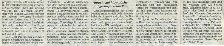 Quelle: Landshuter Zeitung 09.01.2021
