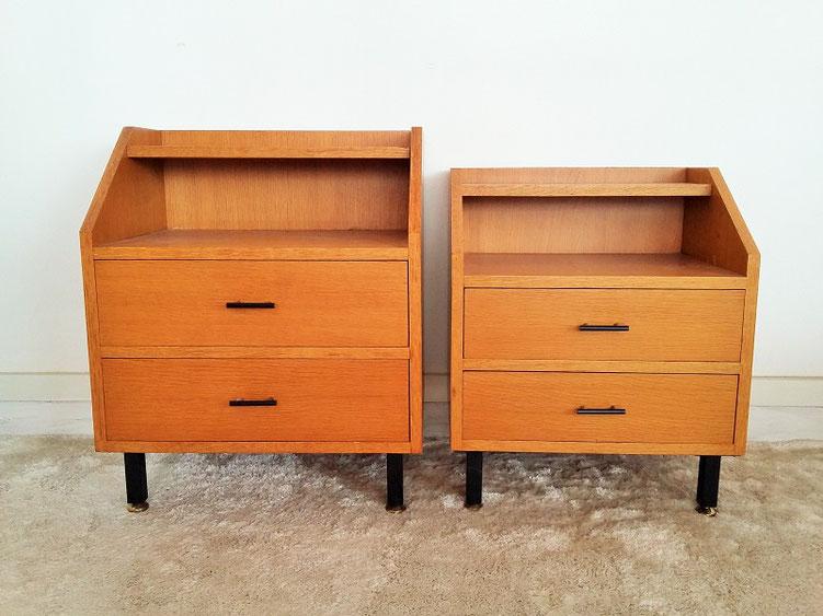 chevet vintage muros design et vintage en bourgogne. Black Bedroom Furniture Sets. Home Design Ideas