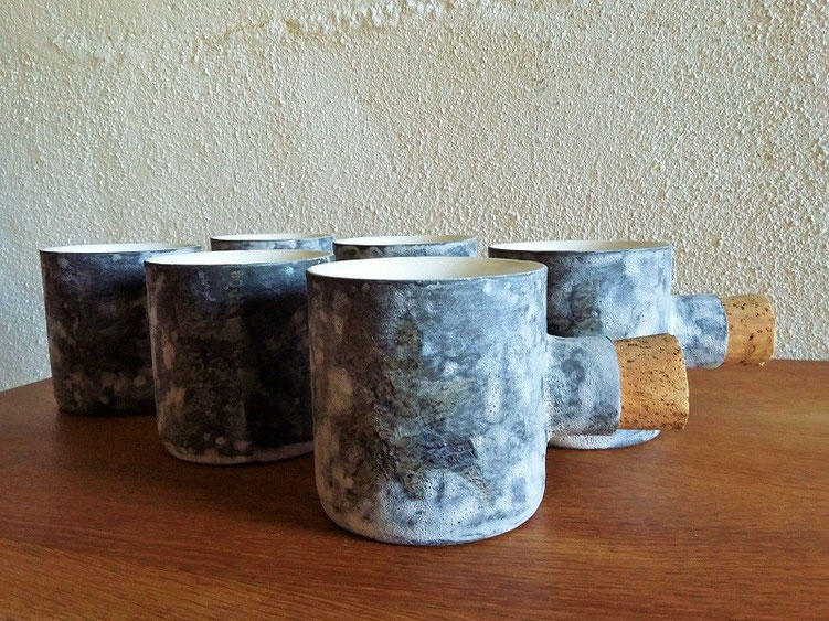 Tasses / mugs Vallauris vintage