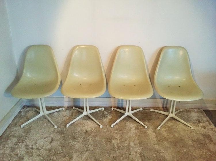 Série chaises La Fonda - Eames - Herman Miller