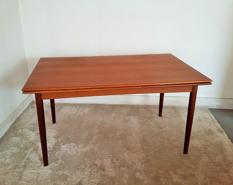 Table scandinave vintage muros design et vintage en for Table rallonge scandinave
