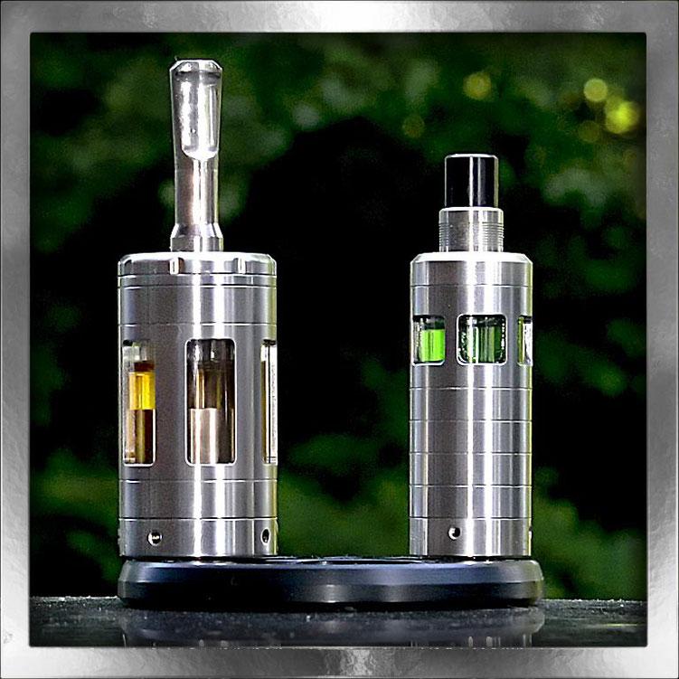 Vapor Giant: Glas-Stahltank mit einer Größe von 10 ml und 5,6 ml