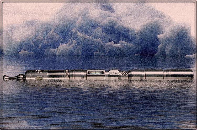 Standhaft trotzt mein SWABIA1337 gegen eine mögliche Eiszeit im zukünftigen Dampfer-Dasein ...