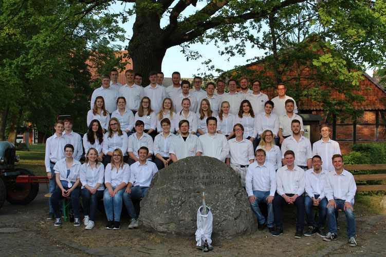 Gruppenbild anlässlich des 125 jährigen Jubiläums im Jahr 2016.