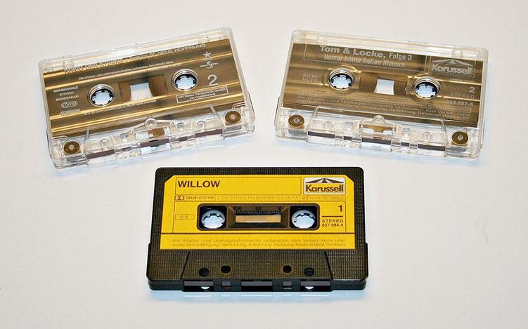 Verschiedene Hörspielkassetten