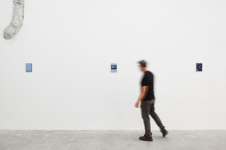 "© Jeanchristophe Lett, ""Just a head"" , Alexandra Noel, Galerie Atlantis Lumière, Marseille"