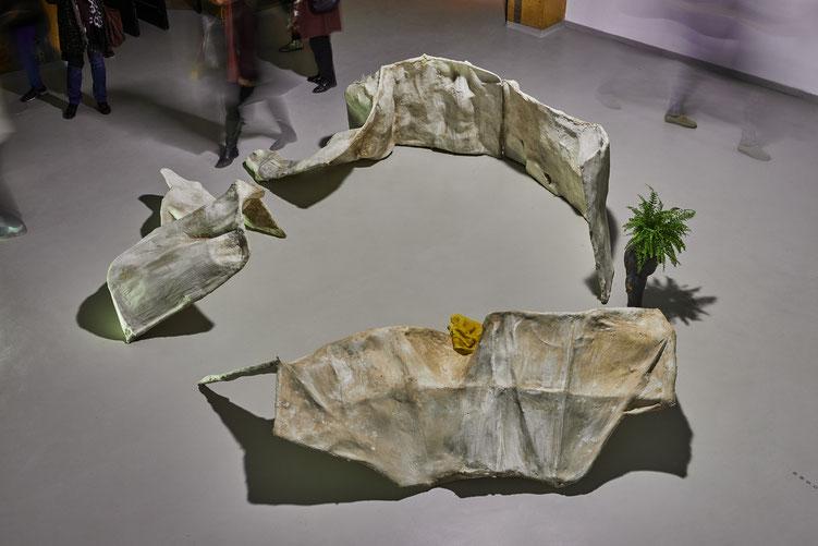 "© Jeanchristophe Lett, ""archéochronie"",  Sibylle Duboc, Galerie Bastide, Marseille"
