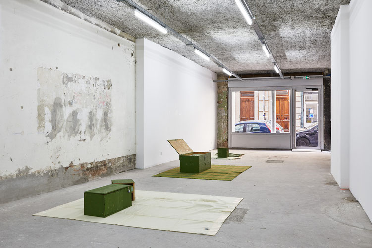 © Jeanchristophe Lett, Win McCarthy - « God-Shaped Hole », Galerie Atlantis, Marseille