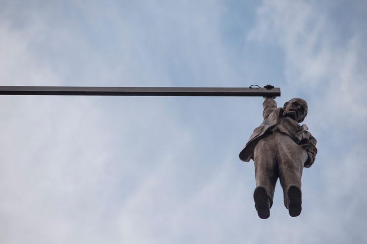 Einige Prager hängen den ganzen Tag nur rum...