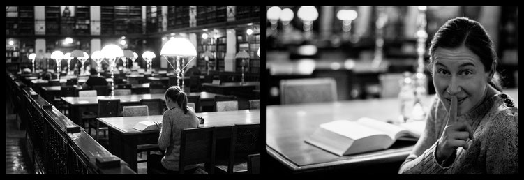 Michael - Foto 1 - ... in der Bibliothek