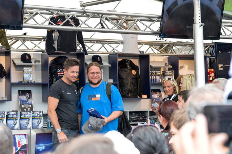 Felix mit einem seiner Fans