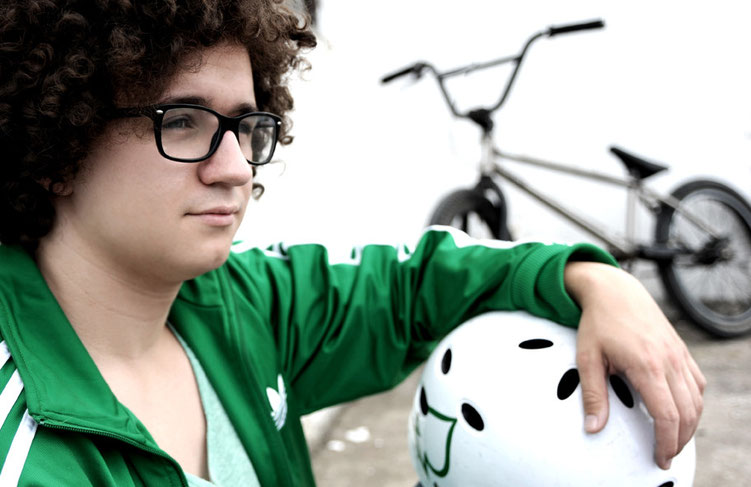 Fahrradportrait Foto von Fotografin Antje Dopheide