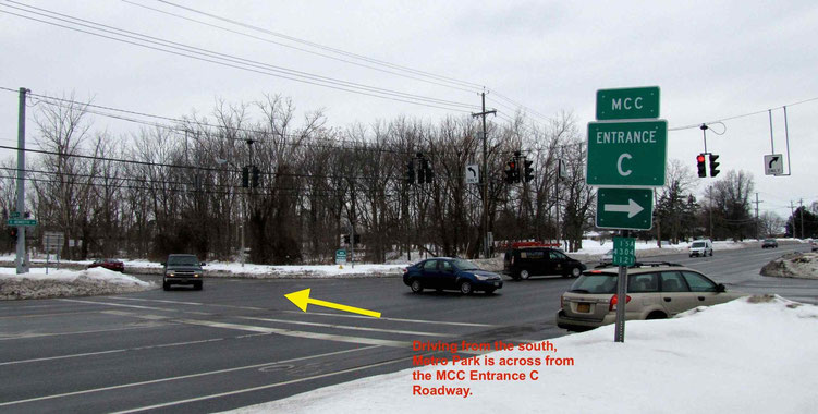 image of Intersection of East Henrietta Rd and Metro Park in Henrietta NY