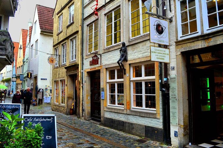 Der Schnoor in Bremen 33