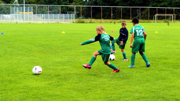 Fußball - 09 - Aufwärmen