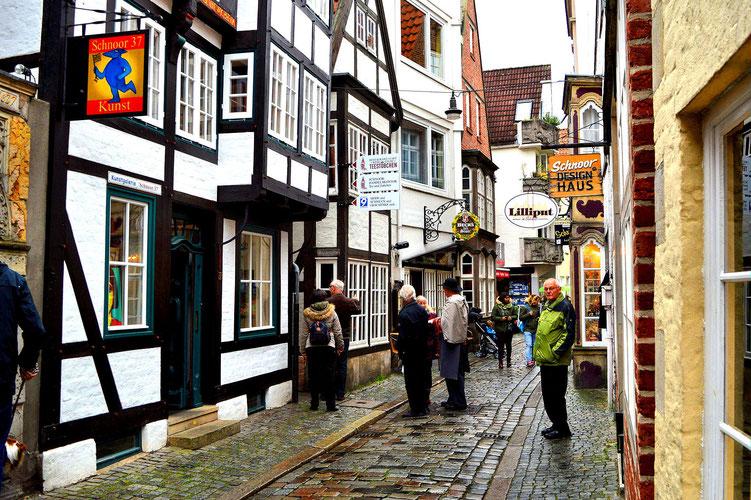 Der Schnoor in Bremen 35
