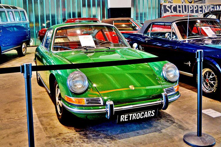 Bremen - Oldtimer im Schuppen Eins 5 - Porsche