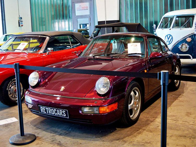 Bremen - Oldtimer im Schuppen Eins 7 - Porsche 911 / 964 von 1993