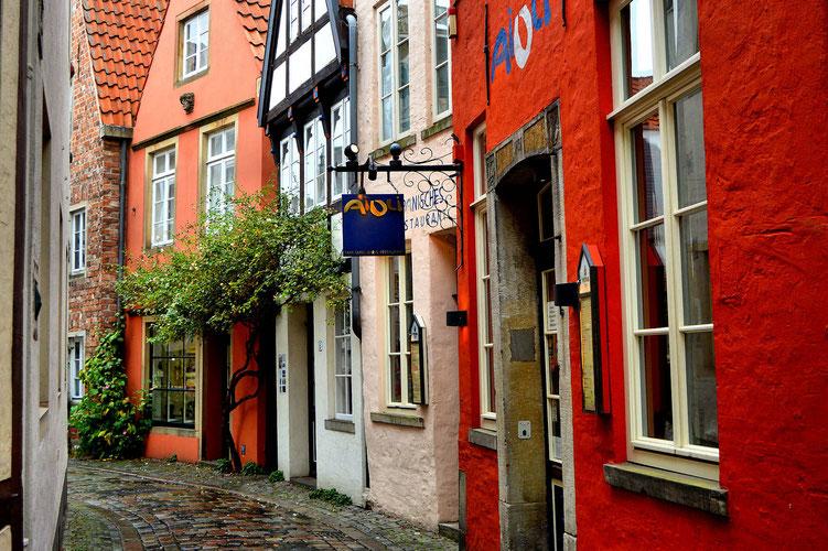 Der Schnoor in Bremen 30