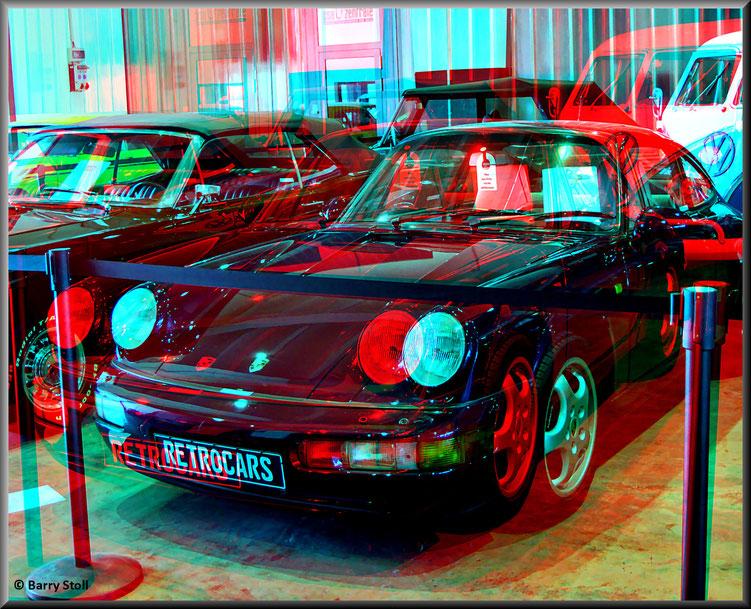 3D - Bremen - Oldtimer im Schuppen Eins 6 - Porsche 911 / 964 von 1993