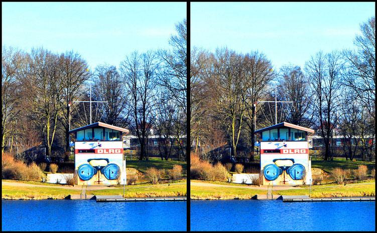 3D Am Werdersee - DLRG-Rettungsturm