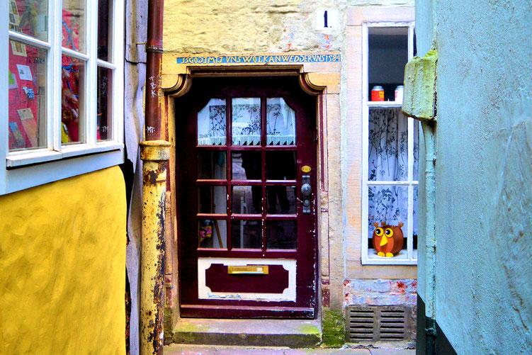 Der Schnoor in Bremen 23