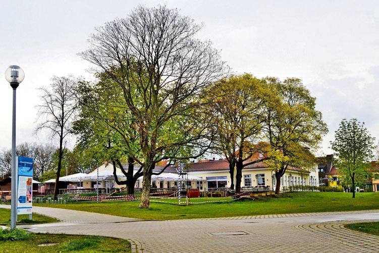Weserwehr und Schleuse 7