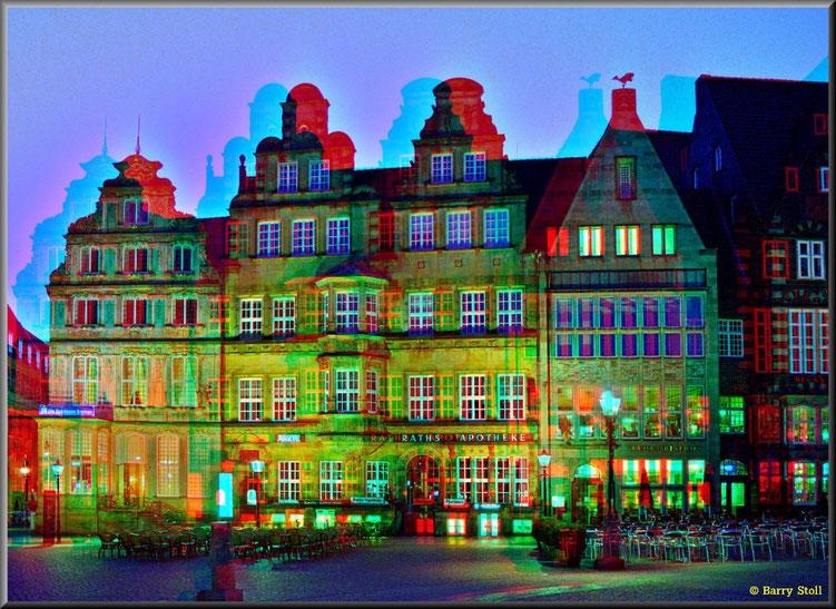 3D - Bremen - Sonntagnacht in der City 3