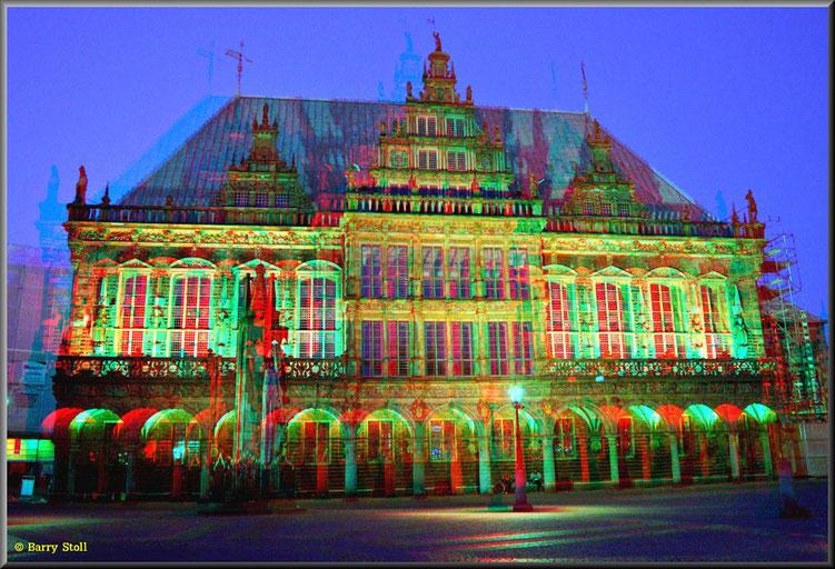 3D - Bremen - Sonntagnacht in der City 2