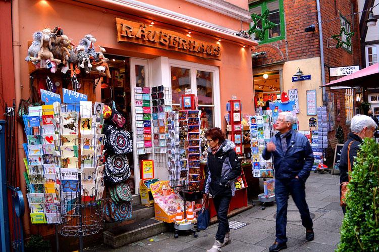 Der Schnoor in Bremen 08