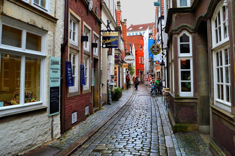 Der Schnoor in Bremen 28