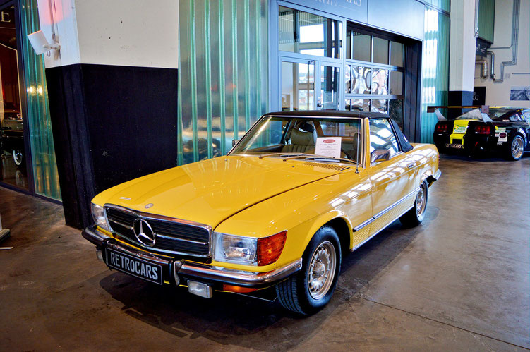 Bremen - Oldtimer im Schuppen Eins 13 - Mercedes-Benz 450 SL von 1973