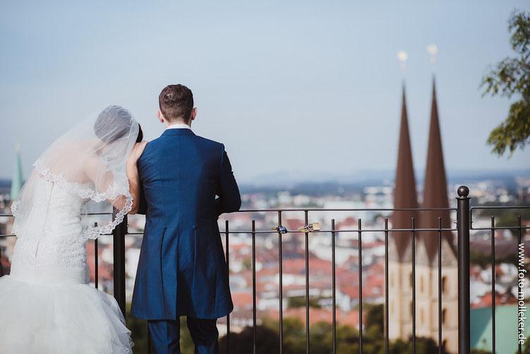 Hochzeitsfotografie und Hochzeit in Bielefeld