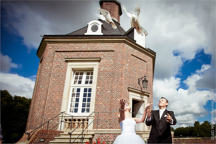 Standesamtliche Trauung und Hochzeit in Schloss Nordkirchen