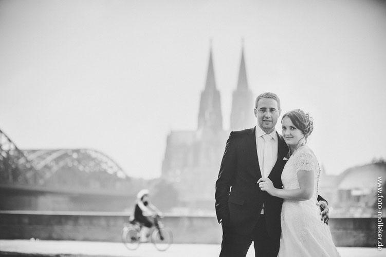 Hochzeitsfotografie und Hochzeit in Köln