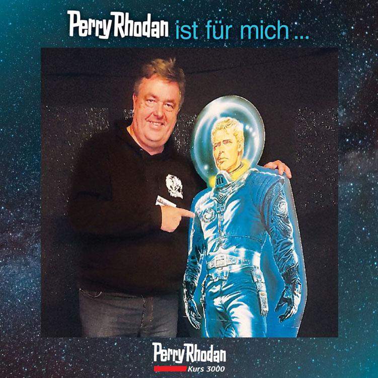 … über Jahrzehnte mit dem Unsterblichen das Universum zu entdecken. Copyright: Verlag P. Moewig-Verlag, Rastatt